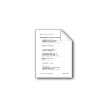 Evan-Moor Educational Publishers Usage Review, Grade 6 Workbook - Grade 8 [eBook]