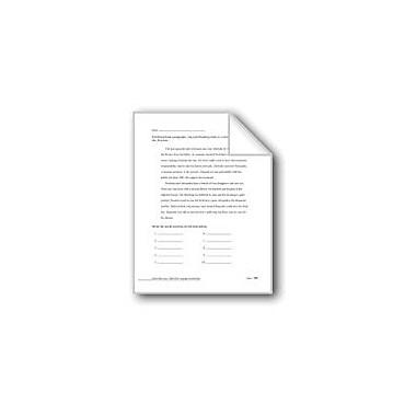 Evan-Moor Educational Publishers Editing: Verbs And Adverbs Workbook, Grade 6 - Grade 8 [eBook]