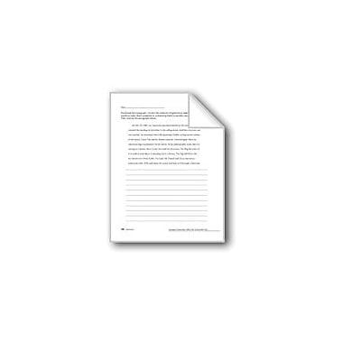 Evan-Moor Educational Publishers Editing: Sentences Workbook, Grade 6 - Grade 8 [eBook]