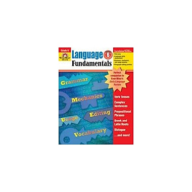 Evan-Moor Educational Publishers Language Fundamentals, Grade 6 Workbook [Enhanced eBook]