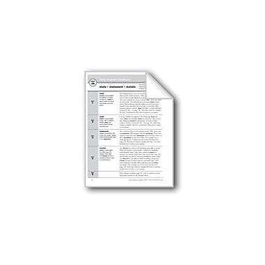 Evan-Moor Educational Publishers Academic Vocabulary, Grade 2: State, Statement, Restate Workbook, Grade 2 [eBook]