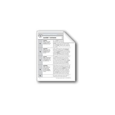 Evan-Moor Educational Publishers Academic Vocabulary, Grade 3: Conclude, Conclusion Workbook, Grade 3 [eBook]