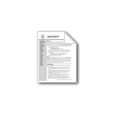 Evan-Moor Educational Publishers Academic Vocabulary, Grade 3: Review Of Weeks 1-8 Workbook, Grade 3 [eBook]