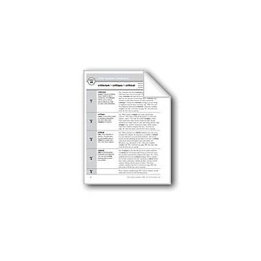 Evan-Moor Educational Publishers Academic Vocabulary, Grade 5: Criticism, Critique, Critical Workbook, Grade 5 [eBook]