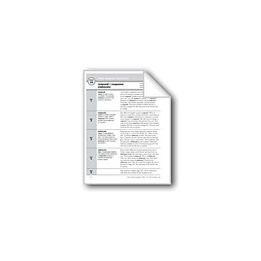 Evan-Moor Educational Publishers Academic Vocabulary, Grade 5: Respond, Response, Elaborate Workbook, Grade 5 [eBook]