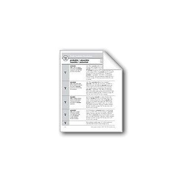 Evan-Moor Educational Publishers Academic Vocabulary, Grade 6+: Probable, Plausible, Feasible, Potential Workbook [eBook]