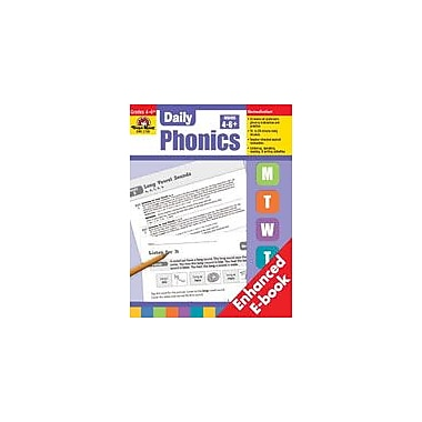 Evan-Moor Educational Publishers Daily Phonics, Grades 4-6+ Workbook, Grade 4 - Grade 8 [Enhanced eBook]