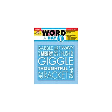 Evan-Moor Educational Publishers A Word A Day, Grade 1 Workbook [Enhanced eBook]