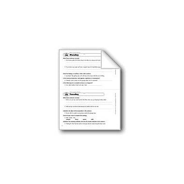 Evan-Moor Educational Publishers Daily Language Review: Week 36 Workbook, Grade 6 [eBook]