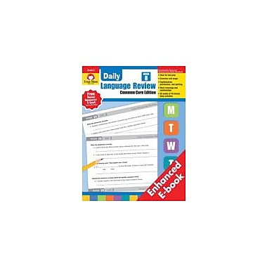 Evan-Moor Educational Publishers Daily Language Review: Grade 8 Workbook [Enhanced eBook]