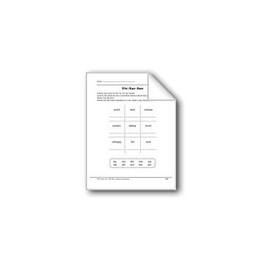 Evan-Moor Educational Publishers Word Play: Tic-Tac-Toe Workbook, Grade 1 [eBook]