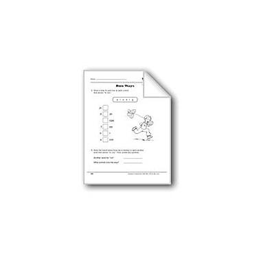 Evan-Moor Educational Publishers Word Play: Run Ways Workbook, Grade 1 [eBook]