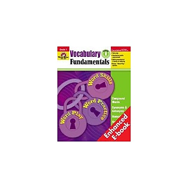 Evan-Moor Educational Publishers Vocabulary Fundamentals: Grade 1 Workbook [Enhanced eBook]