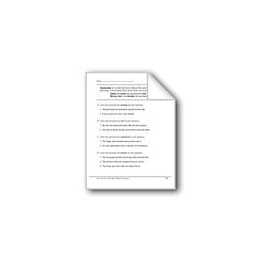 Evan-Moor Educational Publishers Synonyms: Damp/Moist/Wet & Skinny/Slim/Slender/Thin Workbook, Grade 2 [eBook]