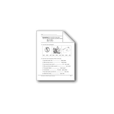 Evan-Moor Educational Publishers Homophones: Ant/Aunt Workbook, Grade 2 [eBook]