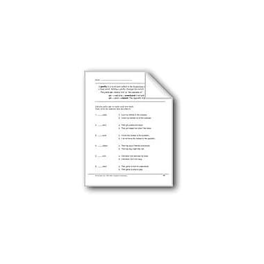 Evan-Moor Educational Publishers Prefixes: Un- Workbook, Grade 2 [eBook]