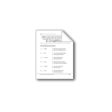 Evan-Moor Educational Publishers Prefixes: Dis- Workbook, Grade 2 [eBook]