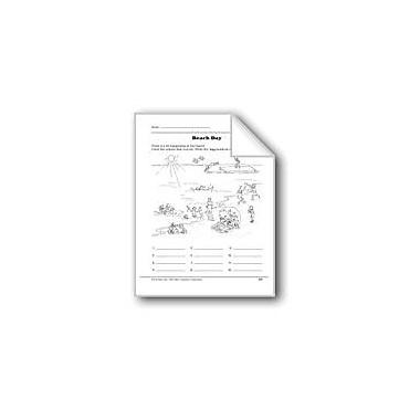 Evan-Moor Educational Publishers Word Play: Beach Day Workbook, Grade 2 [eBook]