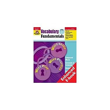 Evan-Moor Educational Publishers Vocabulary Fundamentals: Grade 2 Workbook [Enhanced eBook]
