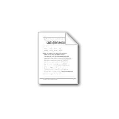Evan-Moor Educational Publishers Suffixes: -Arium, -Ary, -Ory Workbook, Grade 5 [eBook]