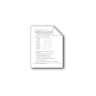 Evan-Moor Educational Publishers Compound Words: Hyphenated Words Workbook, Grade 6 [eBook]
