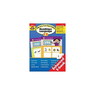 Evan-Moor Educational Publishers Take It To Your Seat Reading And Language Centers, Kindergarten Workbook [Enhanced eBook]