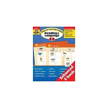 Evan-Moor Educational Publishers Take It To Your Seat Reading And Language Centers, Grade 1 Workbook [Enhanced eBook]