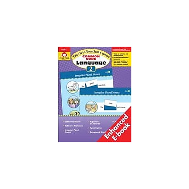 Evan-Moor Educational Publishers Take It To Your Seat Common Core Language Centers, Grade 2 - eBook Workbook, Grade 2 [eBook]