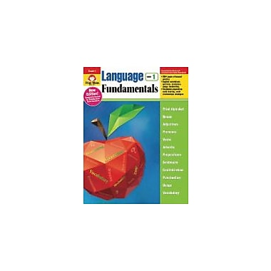 Evan-Moor Educational Publishers Language Fundamentals, Grade 1 Workbook [eBook]