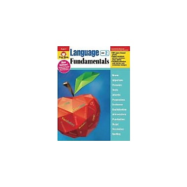 Evan-Moor Educational Publishers Language Fundamentals, Grade 2 Workbook [eBook]