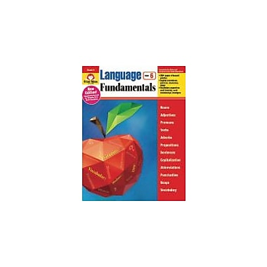 Evan-Moor Educational Publishers – Cahier d'exercices « Language Fundamentals », 6e année [livre numérique]