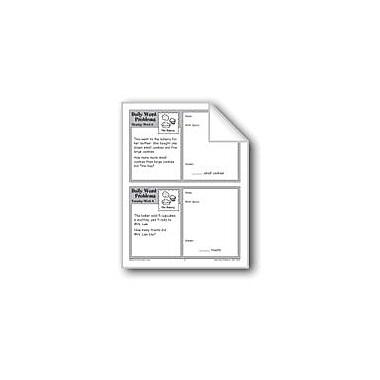Evan-Moor Educational Publishers The Bakery (Grade 2 Daily Word Problems-Week 9) Workbook, Grade 2 [eBook]