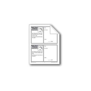 Evan-Moor Educational Publishers Kites (Grade 2 Daily Word Problems-Week 12) Workbook, Grade 2 [eBook]
