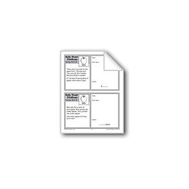 Evan-Moor Educational Publishers Apples (Grade 2 Daily Word Problems-Week 22) Workbook, Grade 2 [eBook]