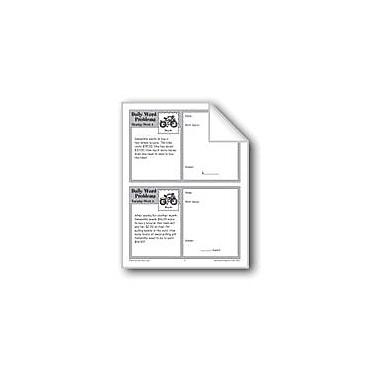 Evan-Moor Educational Publishers Bicycle (Grade 3 Daily Word Problems-Week 4) Workbook, Grade 3 [eBook]