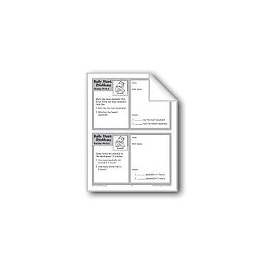 Evan-Moor Educational Publishers Seashells (Grade 3 Daily Word Problems-Week 8) Workbook, Grade 3 [eBook]