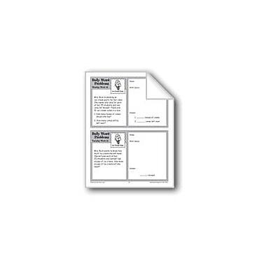 Evan-Moor Educational Publishers Ice-Cream Party (Grade 3 Daily Word Problems-Week 16) Workbook, Grade 3 [eBook]