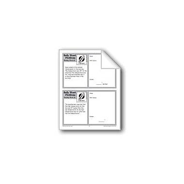 Evan-Moor Educational Publishers Temperature (Grade 3 Daily Word Problems-Week 23) Workbook, Grade 3 [eBook]