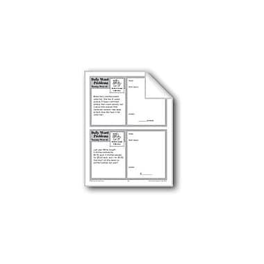 Evan-Moor Educational Publishers Stuffed Animal Collection (Grade 3 Daily Word Problems-Week 35) Workbook, Grade 3 [eBook]
