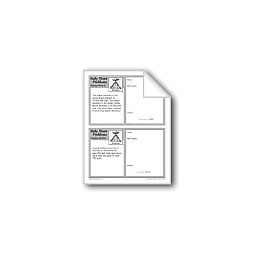 Evan-Moor Educational Publishers Mountains (Grade 4 Daily Word Problems-Week 17) Workbook, Grade 4 [eBook]