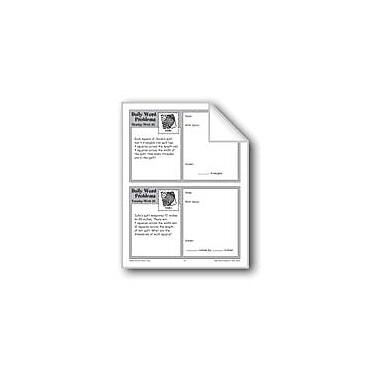 Evan-Moor Educational Publishers Quilts (Grade 4 Daily Word Problems-Week 32) Workbook, Grade 4 [eBook]