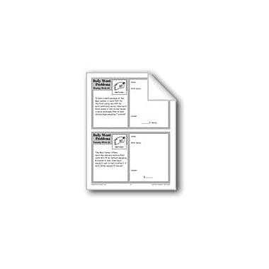 Evan-Moor Educational Publishers Mail Center (Grade 4 Daily Word Problems-Week 33) Workbook, Grade 4 [eBook]