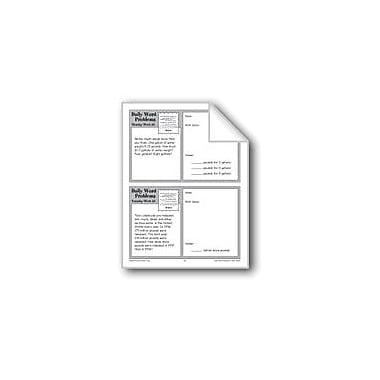 Evan-Moor Educational Publishers Water (Grade 4 Daily Word Problems-Week 36) Workbook, Grade 4 [eBook]