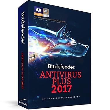 BitDefender – Logiciel Antivirus Plus 2017, 3 utilisateurs, 2 ans [Téléchargement]