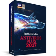 Bitdefender Antivirus Plus 2017, 1 Users, 1 Year [Download]