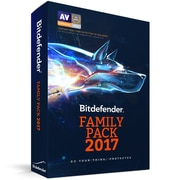 Bitdefender Family Pack 2017, Unlimited Users, 3 Years [Download]