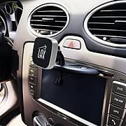 LAX Gadgets Magnetic CD Slot Car Mount Phone Holder