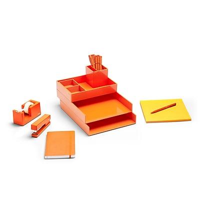Poppin Orange Dream Desk (101603)
