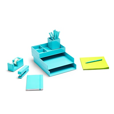 Poppin Aqua Dream Desk (101599) 2494333