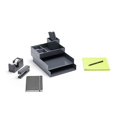 Poppin Dark Gray Dream Desk (103649)